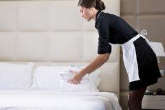 в отелях или гостиницах