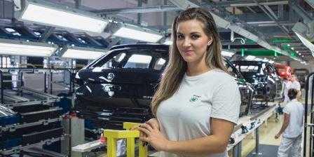 Работа на автозаводе Шкода в Чехии